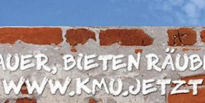 Suchen Mauer, bieten Räuberleiter - www.kmu.jetzt